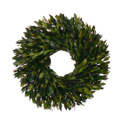 Urban Florals Green Myrtle Wreath
