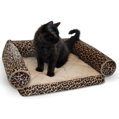 K&H Manufacturing Lazy Leopard Pet Lounger