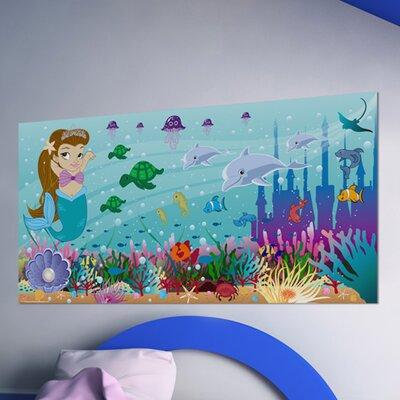 Mona Melisa Designs Mermaid Girl Hanging Wall Mural