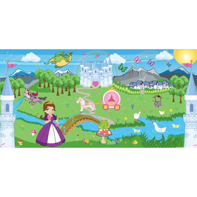 Mona Melisa Designs Princess Girl Hanging Wall Mural