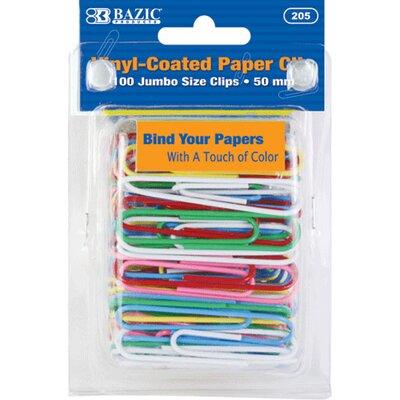 Bazic Jumbo (50mm) Paper Clips Set