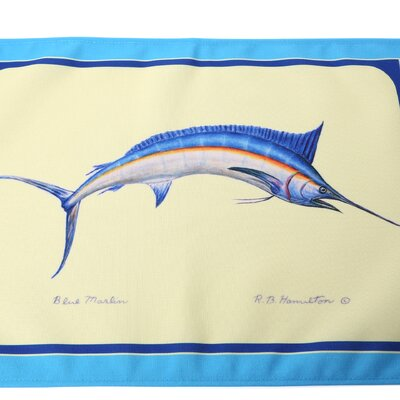 Betsy Drake Interiors Marlin Placemat
