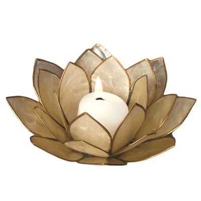Dekorasyon Gifts & Decor Capiz Lotus Candleholder