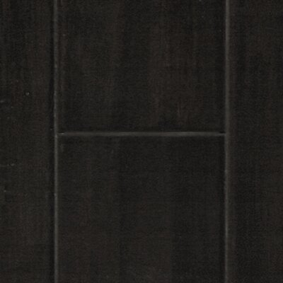 "Islander Flooring 3-5/8"" Solid Bamboo Hardwood Flooring in Ebony"