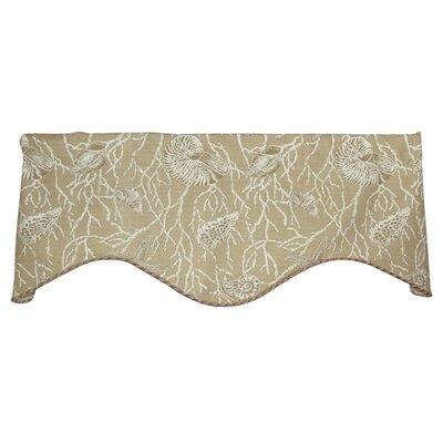 "Sea Shells 50"" Curtain Valance Product Photo"