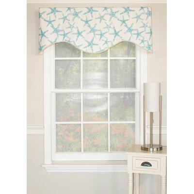 """Beach Star Cornice 50"""" Curtain Valance Product Photo"""