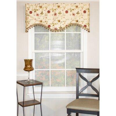 "Pardise Garden Cornice 50"" Curtain Valance Product Photo"