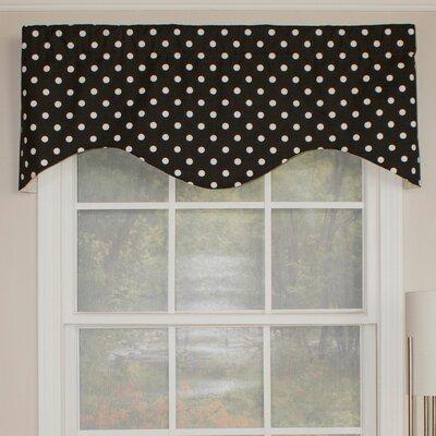 "Polka Dot Cornice 50"" Curtain Valance Product Photo"