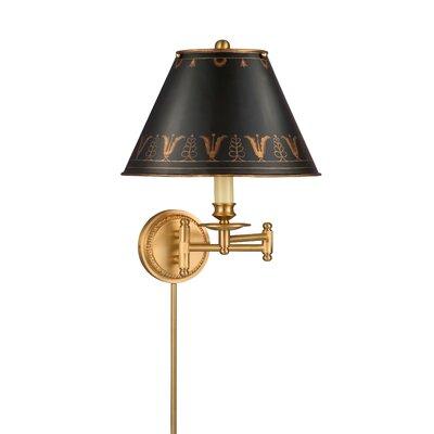 Remington Lamp Company 1 Light Swing Arm Wall Lamp