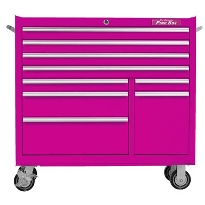 "The Original Pink Box 41"" Wide 9 Drawer Bottom Cabinet I"