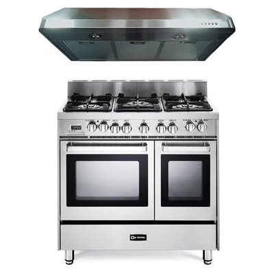 2.4 Cu. Ft. Dual Fuel Convection Range in Stainless Steel Product Photo