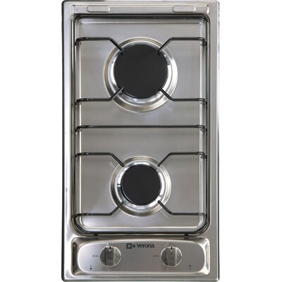 "11.4"" Gas Cooktop with 2 Burners Product Photo"
