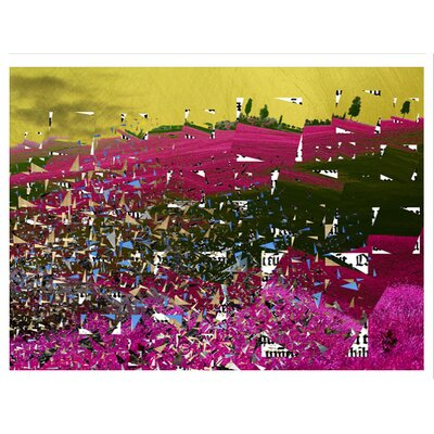 Carlyle Fine Art Abstract Cut Up by Jordan Carlyle Graphic Art
