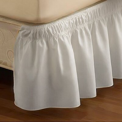 Easy Fit™ EasyFit  Wrap Around Solid Ruffled Bed Skirt