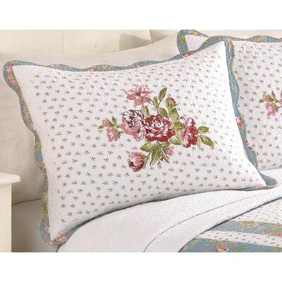 Peking Handicraft Modern Heirloom Loretta Standard Sham & Reviews Wayfair