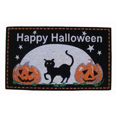 Happy Halloween Coir Doormat by Peking Handicraft