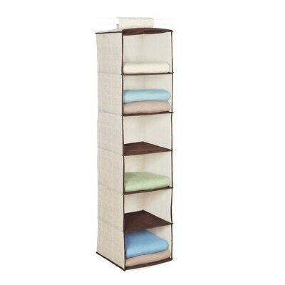 Celessence Crisp Linen Storage Scents 6 Shelf Sweater Organizer and Accessory Organizer Product Photo