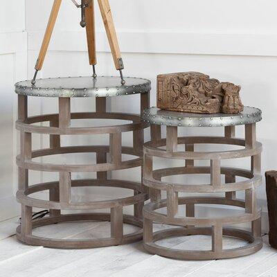 Cartuga 2 Piece Nesting Tables by Mercana