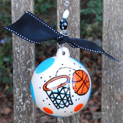 Glory Haus Basketball Ball Ornament