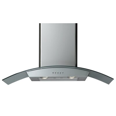 "H Series 36"" Wall Mount Range Hood in Stainless Steel Product Photo"