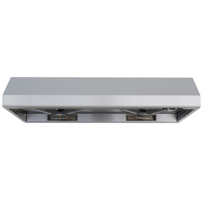 "WS-55 42"" Under Cabinet Range Hood in Stainless Steel Product Photo"