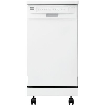 "18"" 59 dBA Portable Dishwasher in White Energy Star Certified Product Photo"