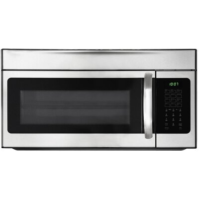 1.5 Cu. Ft. 900W Over-the-Range Microwave Stainless Steel Product Photo