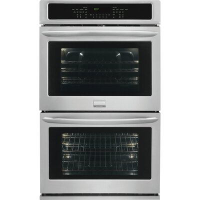 "Gallery Series 30"" Electric Double Wall Oven in Stainless Steel Product Photo"
