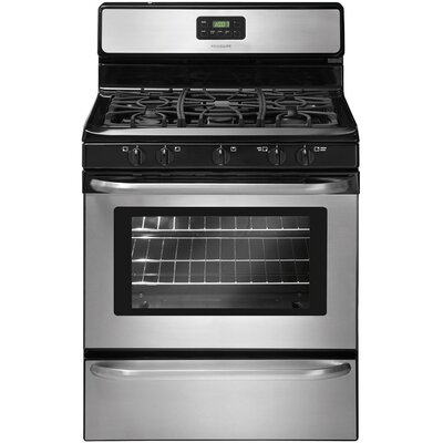 4.2 Cu. Ft. Gas Range in Stainless Steel Product Photo