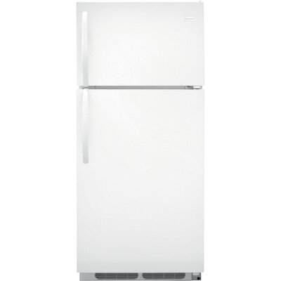 16 cu. ft. Top Freezer Refrigerator in White Product Photo