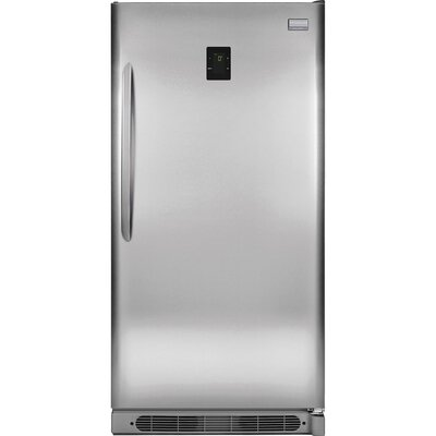 17 cu. ft. Top Freezer Refrigerator in Stainless Steel Product Photo