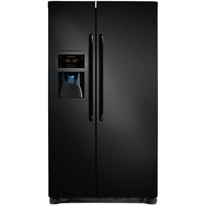 22.6 cu. ft. Side-by-Side Refrigerator with Interior Light and Concealed Hinges by Frigidaire