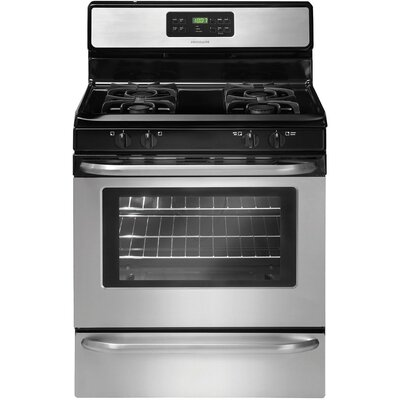 5 Cu. Ft Gas Range in Stainless Steel Product Photo