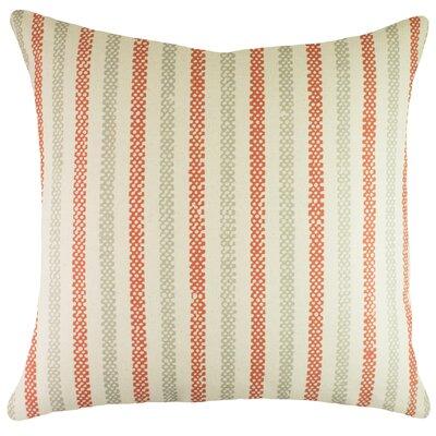 Stripe Cotton Throw Pillow by TheWatsonShop