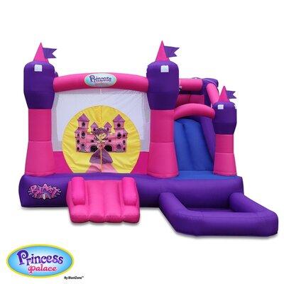 Blast Zone Princess Combo Bounce House