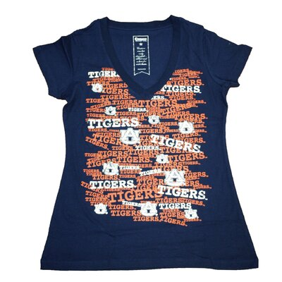 Campus Couture NCAA Women's Rylan Short Sleeve V-Neck T-Shirt