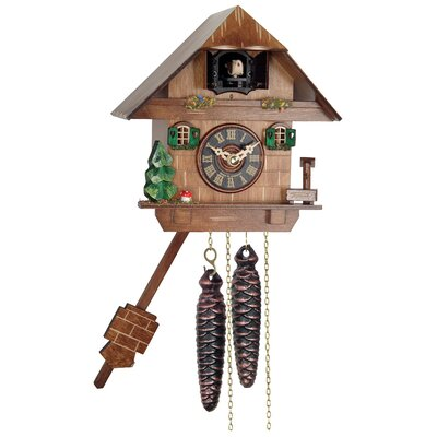 River City Clocks One Day Cottage Cuckoo Wall Clock