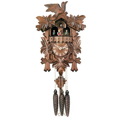 River City Clocks Musical Cuckoo Wall Clock