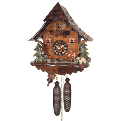 Eight Day Cottage Cuckoo Wall Clock by River City Clocks