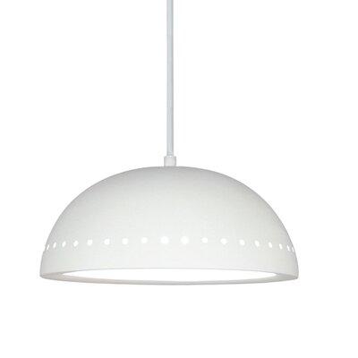 A19 Gran 1 Light Inverted Pendant