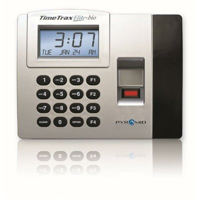 Pyramid TimeTrax Elite Biometric Time and Attendance Terminal Only