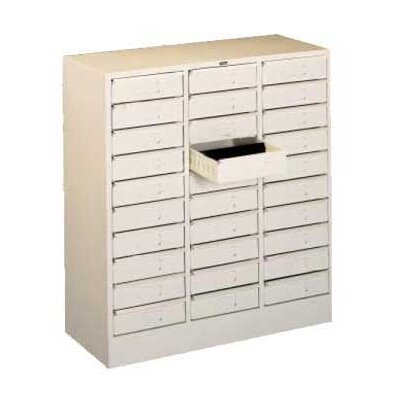 Tennsco Corp. 30 Drawer Organizer Filing Cabinet