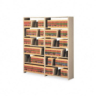 Tennsco Corp. Tennsco Snap-Together 7-Shelf Closed Starter Set Open Filing Unit