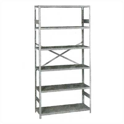 Tennsco Corp. Standard 5 Shelf Shelving Unit Starter