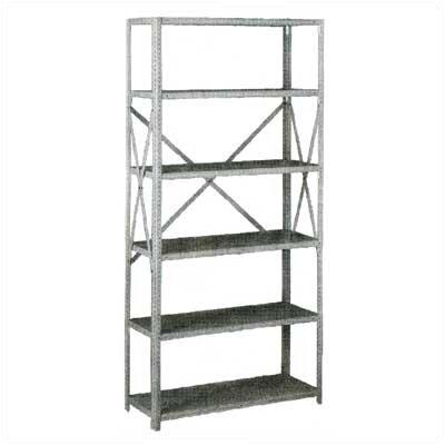 Tennsco Corp. Q Line Box-Formed 6 Shelf Shelving Unit Starter