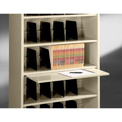 Tennsco Corp. Accessory, Fixed Shelf Slide-Out File