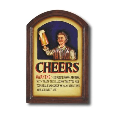 Game Room Cheers Framed Vintage Advertisement by RAM Game Room