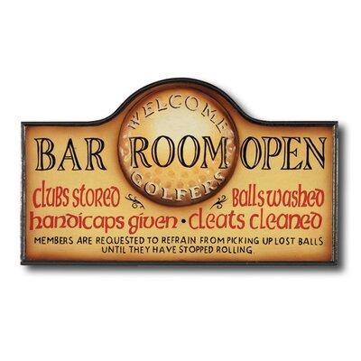 Game Room Bar Room Open Framed Vintage Advertisement by RAM Game Room