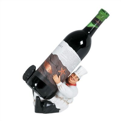 RAM Game Room Kitchen Character 1 Bottle Tabletop Wine Rack