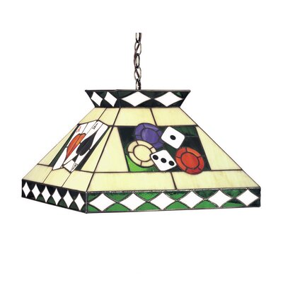 Tiffany 2 Light Pool Table Light by RAM Game Room
